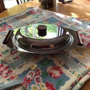 Glo Hill Gourmands Mid Century Server